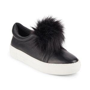 J/Slides leather & pom slides